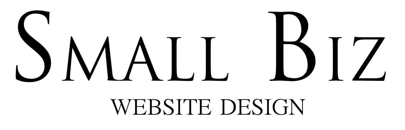 small business website design nottinham text logo